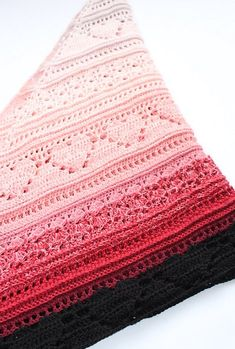 Ravelry: Bumpy road to love shawl pattern by Addicted 2 The Hook Crochet Shawls And Wraps, Crochet Scarves, Crochet Yarn, Crochet Clothes, Crochet Stitches, Prayer Shawl Crochet Pattern, Crochet Blanket Patterns, Prayer Shawl Patterns, Crochet Prayer Shawls