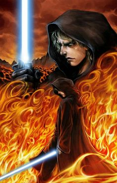 ANAKIN SKYWALKER Anakin Darth Vader, Anakin And Padme, Anakin Skywalker, Star Wars Pictures, Star Wars Images, Star Wars Jedi, Star Wars Art, Anakin Dark Side, Saga
