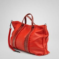 Fire Nappa Ayers Bag