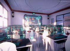 Classroom, Scenery, Background, Anime Background, Anime Scenery, Visual Novel…