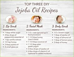 How to Use Jojoba Oil: Top 10 Uses + 3 DIY Recipes