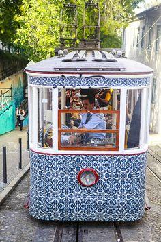 Lisbon, Portugal, Tiles, Portuguese Tiles by Diário de via… Visit Portugal, Portugal Travel, Spain And Portugal, Portugal Facts, Algarve, Lisbon Tram, Lisbon City, Portuguese Culture, Portuguese Tiles