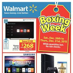 [Walmart] Boxing Day Sale is Live!