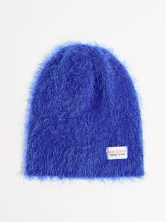 Beanie sapka díszcímkével - kék - UL439-55X - Mohito - 2 Beanie 4491434d6e