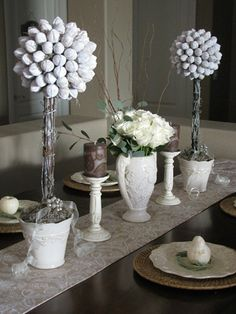 winter tablescape - Yahoo Image Search Results