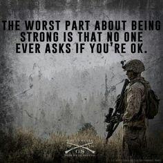 PTSD awareness. Leave no man behind.