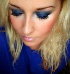 Make Up and more: Ich mach heut mal blau! AMU