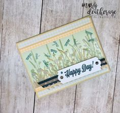 Mary Deatherage, Independent Stampin' Up! Demonstrator in Fayetteville, Georgia (Atlanta).Let's make some cards! Butterfly Cards, Flower Cards, Dragonfly Images, Marker Storage, Stampin Up Catalog, Some Cards, Panel Art, Ink Pads, Halloween Cards