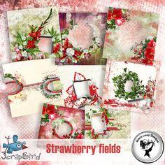 Strawberry fields QP by Black Lady Designs