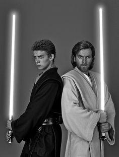Star Wars - Ewan McGregor &Hayden Christensen,Obi-Wan Kenobi &Anakin Skywalker