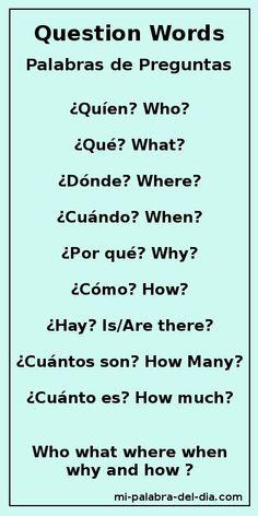 Dating ord på spansk
