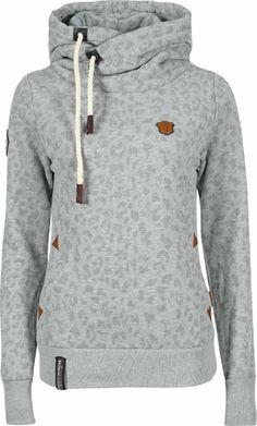 Amazon.com  Naketano Wild Darth II Hoodie Hoody Grey Melange Sweater Damen  Womens(Grey Melange,S)  Clothing 6a0ea67b4c