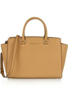 Selma large textured-leather tote #accessories #women #covetme #michaelmichaelkors
