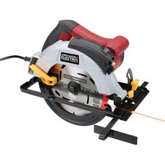 12 Amp Heavy Duty Circular Saw With Laser Guide System Woodworking Jigsaw, Woodworking Equipment, Woodworking Workbench, Woodworking Projects, Wood Projects, Best Table Saw, Table Saw Stand, Diy Table Saw, Circular Saw Reviews