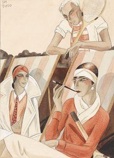 (d.i. Dörte Clara Wolff) Dodo So ist das Leben, 1929.