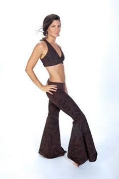 The OM Collection's Flowy Yoga Pants, Flowy Dance Pants. Bell Bottom Pants, Bell Bottoms, Dance Pants, Yoga Dance, Flowy Pants, Dance Fashion, Yoga Wear, Zumba, Vintage Patterns