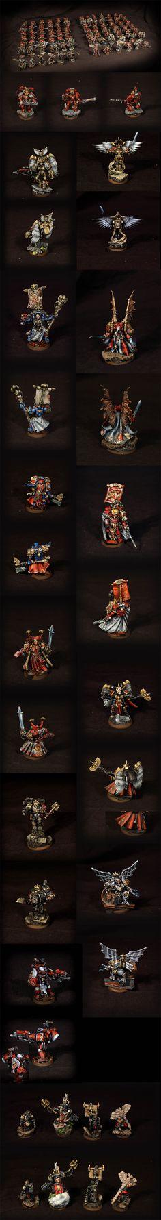 40k - Blood Angels Army by Gruumsh