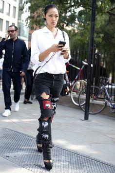 Moda: apliques em profusão é febre (tão anos 90, né?)
