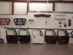 Rudy's Classic Jeeps LLC - Jeep CJ7 HARD DOORS & Jeep CJ-7 HARD TOP (s) FOR SALE JEEP CJ7 HARDTOPS & HATCHES!Easy to ship doors and hatches. (Tops move w significant expense) Picture taken 10-1-2016Earlier photos below