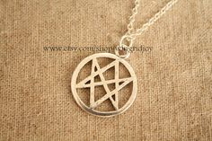 For the women of letters in all of us :) the siler The supernatural jewelry Pagan jewelry by wingridjoy, $2.86 - http://amzn.to/2goDS3g