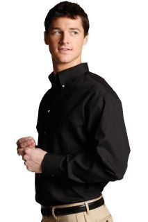 Edwards 1280 Men's Button Down Poplin Shirt LS