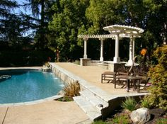 Formal Entertaining Space Arborealis Landscape Design - San Francisco Bay Area, East Bay, Peninsula