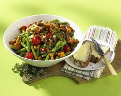 Pfifferlings-Bohnen-Salat Rezept