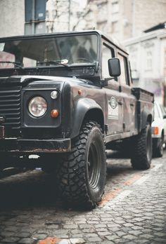 If I was ever in a zombie apocalypse, this is just one of the few vehicles I would want. It looks pretty big, could take a zombie or two smashing the front end. I like it.
