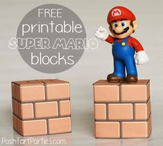 Free Printable Super Mario Brick Blocks