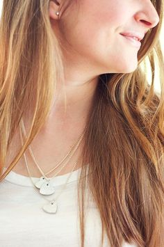 DIY Mother's Day : DIY  Wooden Heart Necklace