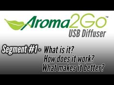 Aroma2Go USB Diffuser - What is it?  How does it work? Where can you use it?
