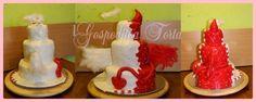 Angel VS Devil Cake