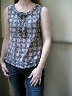 Sew Tessuti Blog - Sewing Tips & Tutorials - New Fabrics, Pattern Reviews: Pattern S (Happy Homemade Vol. 1) in Liberty