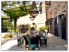 Rustic, Chic, Romantic, French Country House, Interior, Exterior, Outdoor Living,