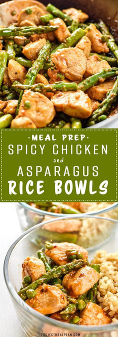 A simple stir-fry style recipe that's quick and easy to throw together. Pair with white or brown rice for the perfect Sunday Meal Prep bowls! #sundaymealprep #mealprep #ricebowls