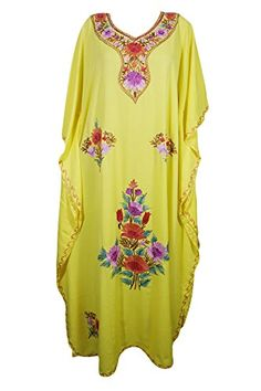 381a3388e1 Mogul Interior Womens Beachwear Dresses Kimono Kaftan Reg... https://www