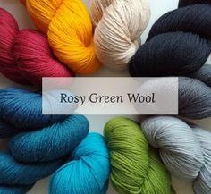 Rosy Green Wool