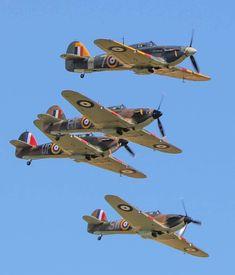 RAF Hawker Hurricanes