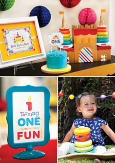 Toy Inspired Royal First Birthday Bash for Fisher Price