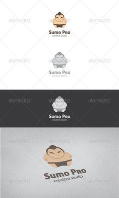 Sumo Pro Logo Template: Humans Logo Design Template by ikaznarsis. Best Logo Design, Business Logo Design, Graphic Design Templates, Logo Templates, Japan Logo, People Logo, Cartoon Logo, Cool Business Cards, Kids Logo