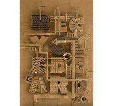 Yulia Brodskaya : Recycled Card