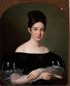 James Water Zacharie, formerly Caroline Elizabeth Deare :: Painting in Louisiana from the Historic New Orleans Collection Female Portrait, Portrait Art, Portrait Paintings, French Creole, Old Paintings, Romantic Paintings, European Paintings, Sketches Of People, Royal Clothing