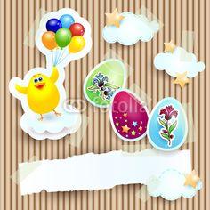 New custom background :) #Easter card, #vector