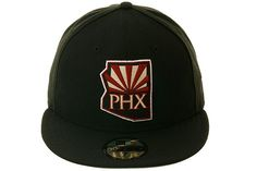 5950 Phoenix Coyotes State Fitted Hat by New Era