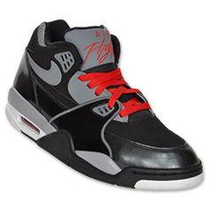 Nike Air Flight 89 Gray and Black