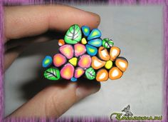 Polymer Clay Canes, Polymer Clay Flowers, Polymer Clay Jewelry, Clay Projects, Clay Crafts, Clay Birds, Book Sculpture, Pottery Painting, Clay Tutorials