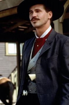 I'm your huckleberry. / val kilmer as doc holiday / 1993 movie tombstone One of my favorite actors!!