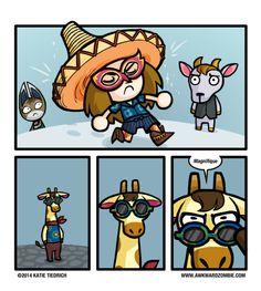 New Ideas Funny Comics Anime Animal Crossing Awkward Zombie, Animal Crossing Qr, Ac New Leaf, Funny Memes, Hilarious, All Meme, Anime Animals, Animal Games, Funny Comics