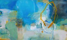 «Sense of water» Akryl på lerret - 137x82 cm Kunstner - Ira Ivanova