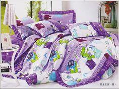 Dinosaur Kingdom Purple Dinosaur Bedding Set Dinosaur Bedding, Purple Pattern, Cartoon Styles, Duvet Cover Sets, Bedding Sets, Comforters, Blanket, Pillows, The Originals